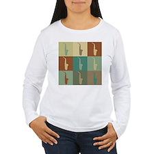 Saxophone Pop Art T-Shirt