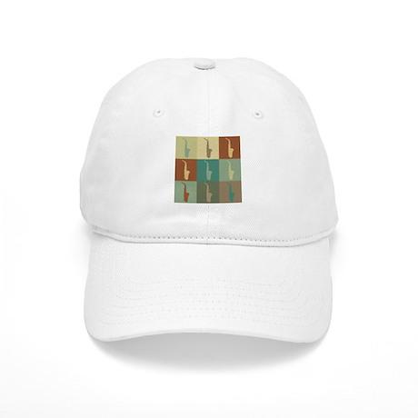 Saxophone Pop Art Cap