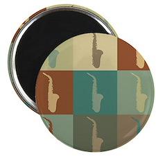 Saxophone Pop Art Magnet