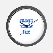 older than ice-blue Wall Clock
