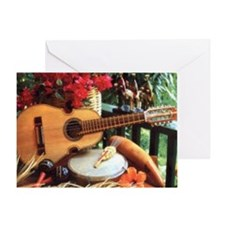 cuatro_puertorriqueno_small[1] Greeting Cards