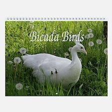 Bicada Birds Wall Calendar