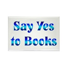 Say Yes Rectangle Magnet