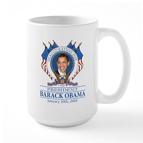 Inauguration day Large Mug