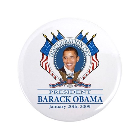 """Inauguration day 3.5"""" Button"""