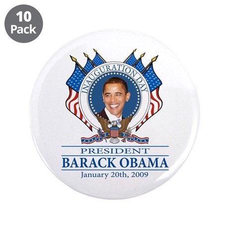 """Inauguration day 3.5"""" Button (10 pack)"""