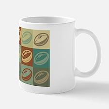Rugby Pop Art Mug