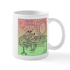 Rudolph Deciding on a Nose Mug