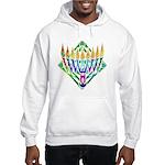V Menorah Hooded Sweatshirt