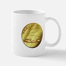 skating 102-gold Small Small Mug