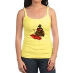 Red Admiral Butterfly Jr. Spaghetti Tank