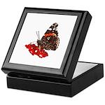 Red Admiral Butterfly Keepsake Box