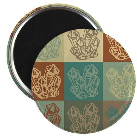 "Rockhounding Pop Art 2.25"" Magnet (10 pack)"