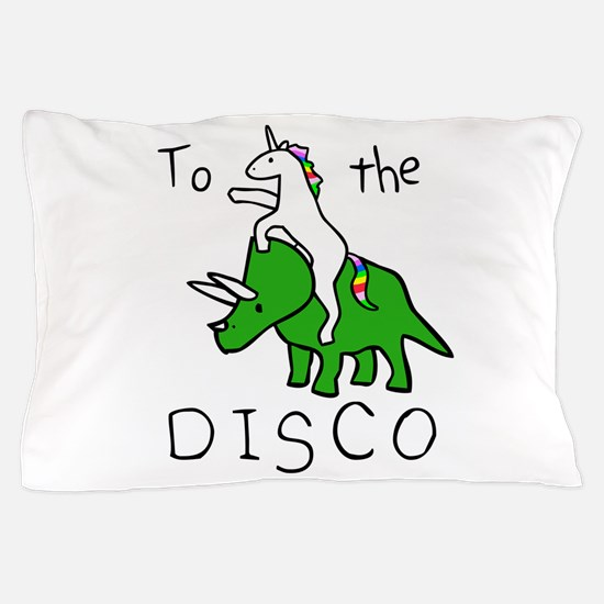 Cute Triceratops Pillow Case
