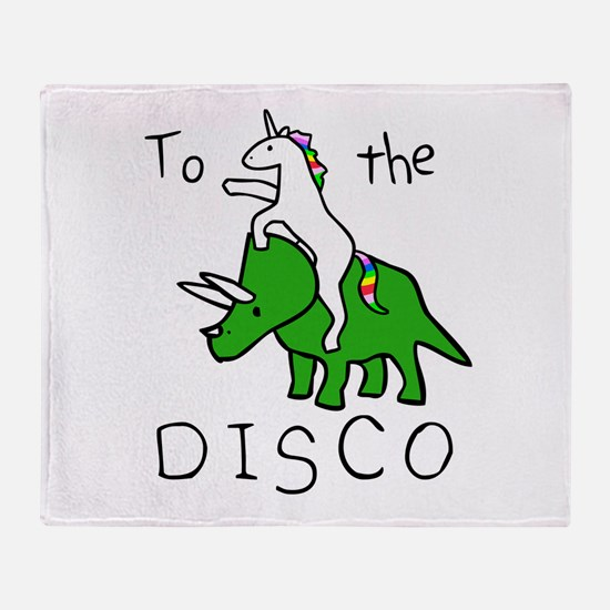 Funny Rave Throw Blanket