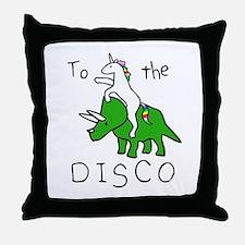 Cute Rave Throw Pillow