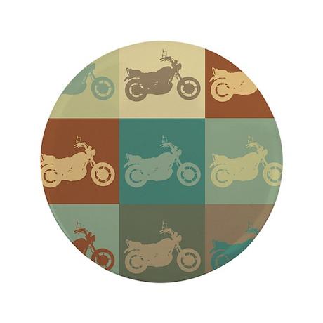 """Riding Pop Art 3.5"""" Button (100 pack)"""