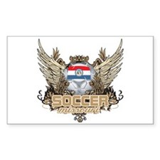 Soccer Missouri Rectangle Decal