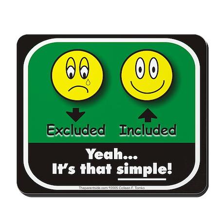 It's That Simple! Mousepad