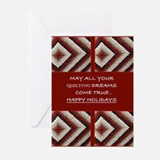 Quilting Christmas Greeting Cards (Pk of 20)