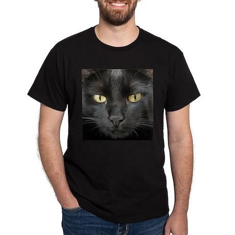 Dangerously Beautiful Black Cat Dark T-Shirt