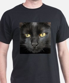 Dangerously Beautiful Black Cat T-Shirt
