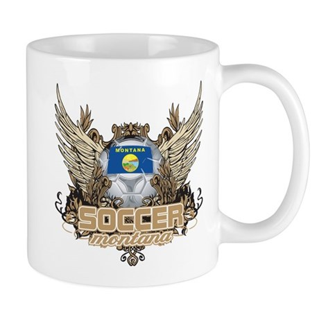 Soccer Montana Mug