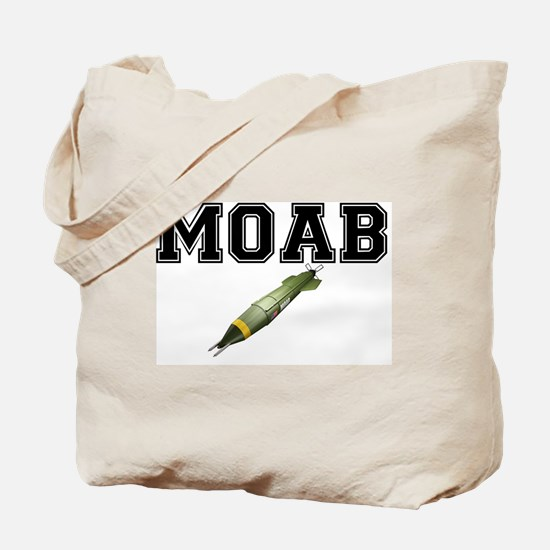 MOAB - MOTHER OF ALL BOMBS Tote Bag