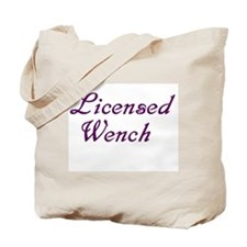 Cute Wench Tote Bag