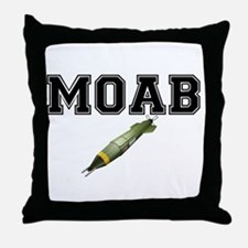 MOAB - MOTHER OF ALL BOMBS Throw Pillow