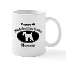 Property of Wirehaired Fox Te Mug