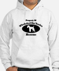 Property of Wirehaired Fox Te Hoodie