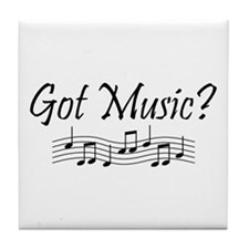 Got Music? Tile Coaster