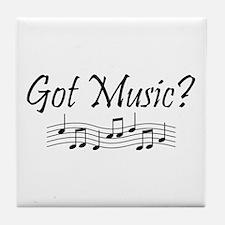 Got Music? Tile Coaster