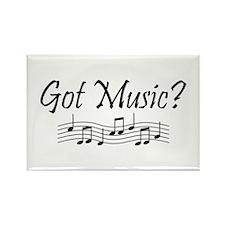 Got Music? Rectangle Magnet