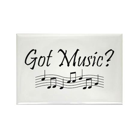 Got Music? Rectangle Magnet (10 pack)