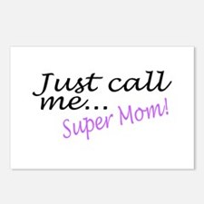 Just Call Me Super Mom Postcards (Package of 8)