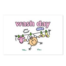 Wash Day Postcards (Package of 8)