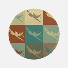 "Radio Control Pop Art 3.5"" Button (100 pack)"