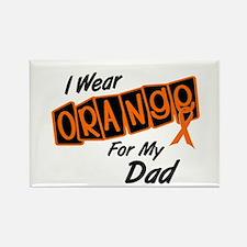 I Wear Orange For My Dad 8 Rectangle Magnet