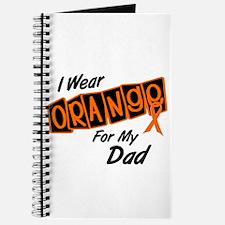 I Wear Orange For My Dad 8 Journal