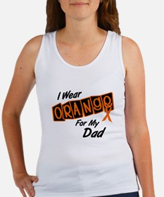 I Wear Orange For My Dad 8 Women's Tank Top