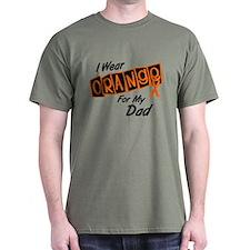 I Wear Orange For My Dad 8 T-Shirt