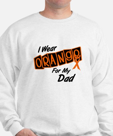 I Wear Orange For My Dad 8 Sweatshirt