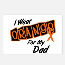 I Wear Orange For My Dad 8 Postcards (Package of 8