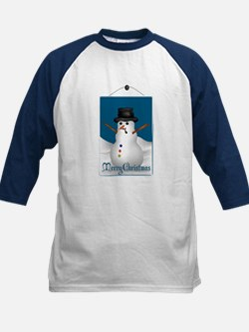 Merry Christmas Snowman Tee