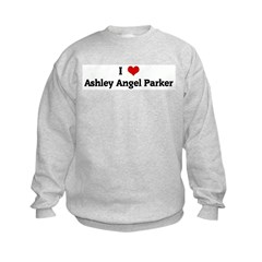 I Love Ashley Angel Parker Sweatshirt
