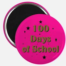 Cute 100th day school Magnet