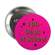 "Unique 100 days 2.25"" Button"