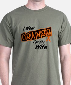 I Wear Orange For My Wife 8 T-Shirt